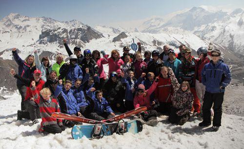 Alpine snow kids