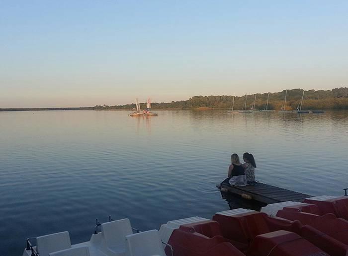 Sunset Lake mimizan