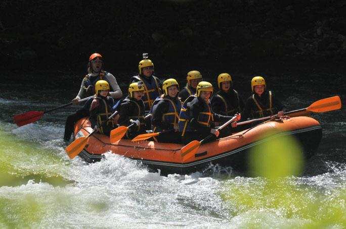 Morzine 2013 rafting