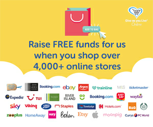 Free funds for us when you shop over 4,000+ stores banner